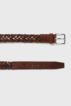 Zara Braided leather belt