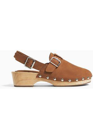 Zara Leather clogs