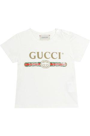 Gucci Printed cotton T-shirt