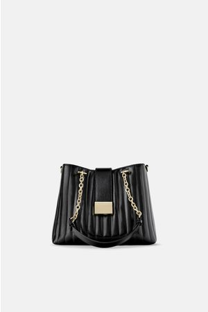 Zara Quilted tote bag