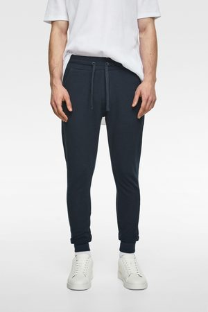 Zara Textured weave jogging trousers