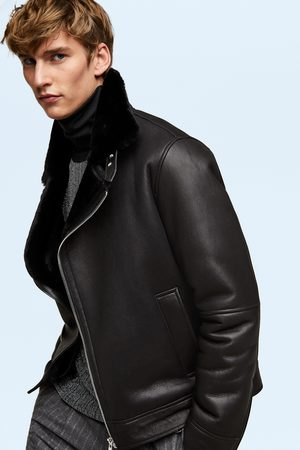 Zara Limited edition double-sided biker jacket