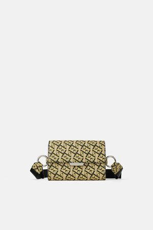 Zara Logo crossbody belt bag