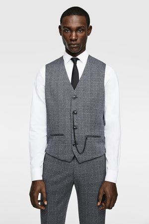 Zara Check suit waistcoat