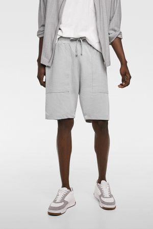 Zara Miehet Bermuda-shortsit - Bermuda shorts with pockets