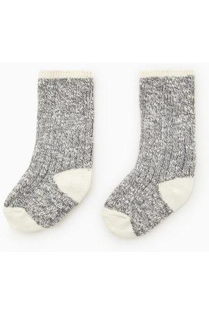 Zara Twisted yarn socks