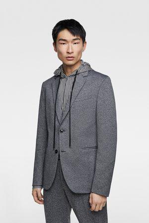 Zara Comfort knit blazer