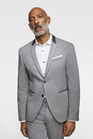 Zara Miehet Bleiserit - Suit blazer with contrast collar