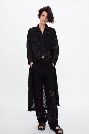 Zara Lace tunic with pocket