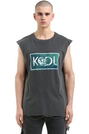 Alchemist Printed Cotton Sleeveless T-shirt