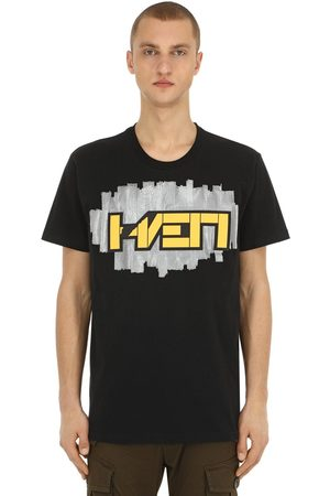 Hærværk 3d Patch Cotton Jersey T-shirt