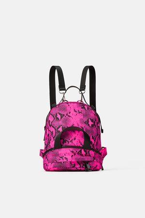 Zara Animal print convertible backpack
