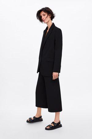 Zara Long bermuda shorts with pockets
