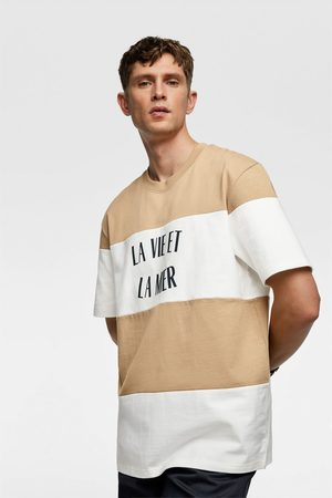 Zara Oversized colour block t-shirt