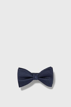 Zara Two-tone jacquard bow tie
