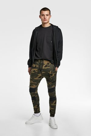 Zara Camouflage jogging trousers