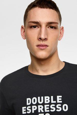 Zara Slogan print t-shirt