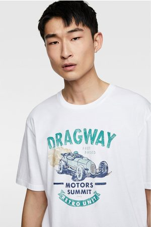 Zara Vintage print t-shirt