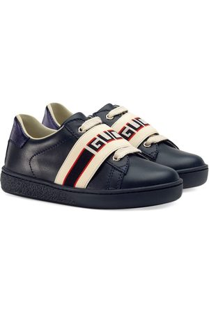 Gucci Toddler Ace sneaker with Gucci stripe