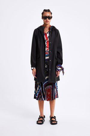 Zara Hooded raincoat