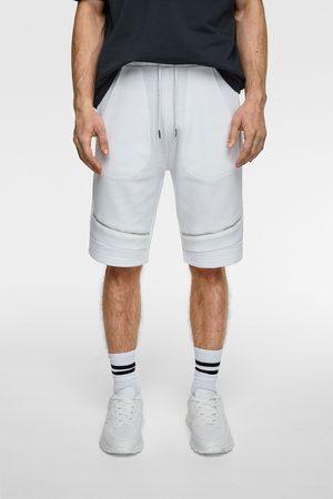 Zara Jogger biker bermuda shorts