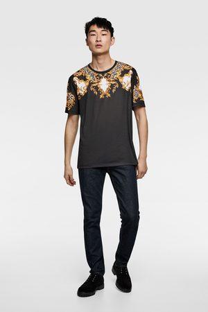 Zara Baroque print t-shirt