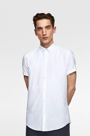 Zara Short sleeve oxford shirt