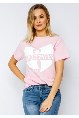 Fiorellashop Wutang CREAM T-shirt In Babypink