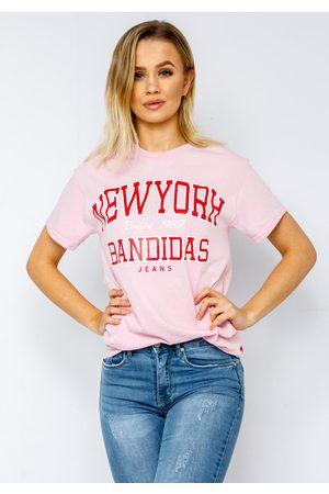 BANDIDAS Newyork T-shirt In Pink