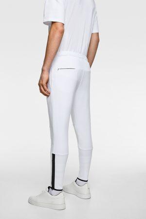 Zara Zipped jogging trousers
