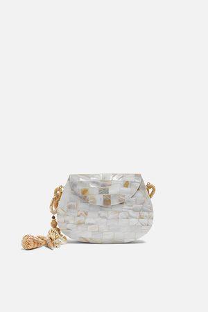 Zara Pearly crossbody bag