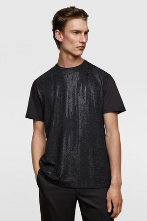 Zara Miehet T-paidat - Diamanté t-shirt