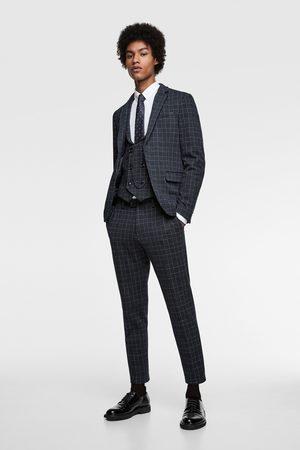 Zara Comfort knit suit waistcoat