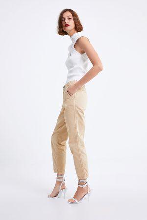 Zara Naiset Chinot - Jeans zw premium new chino