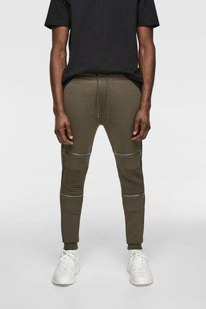 Zara Jogger biker trousers
