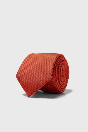 Zara Miehet Solmiot - Wide textured weave tie