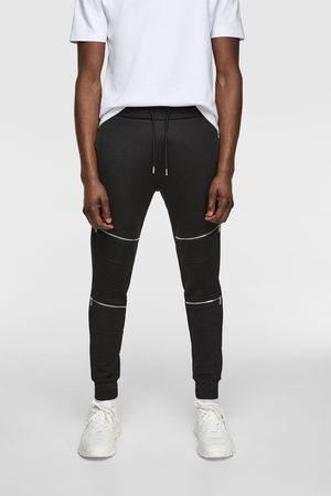 Zara Miehet Housut - Jogger biker trousers