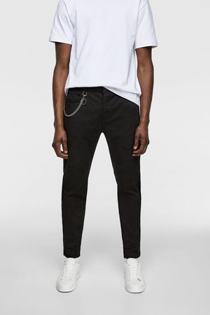 Zara Miehet Housut - Overdyed trousers with chain