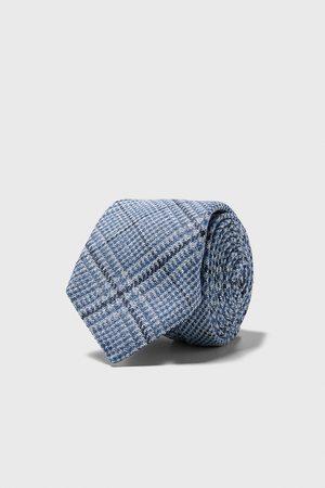 Zara Wide check tie