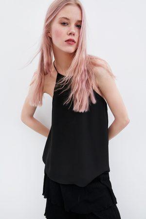 Zara Halter top