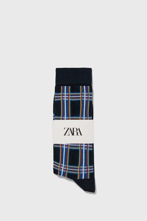Zara Check socks