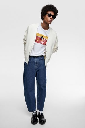 Zara Miehet T-paidat - Mickey © disney t-shirt