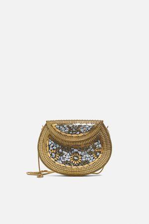 Zara Contrast crossbody bag