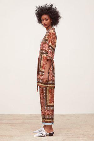 Zara Naiset Tunikat - Short printed tunic