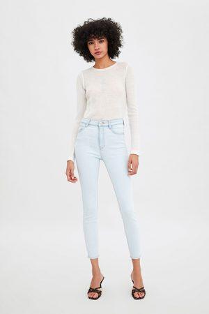 Zara Hi-rise vintage skinny jeggings