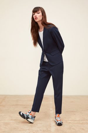 Zara Check skinny trousers