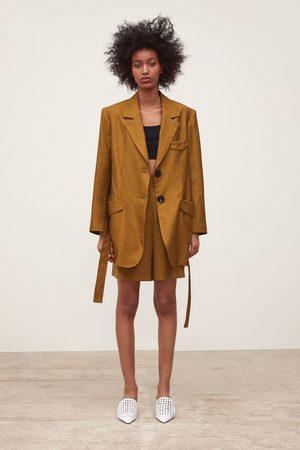 Zara Flowing bermuda shorts with pockets