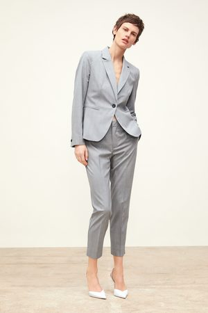 Zara Check skinny trousers