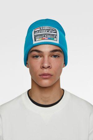 Zara Miehet Hatut - Hat with patch