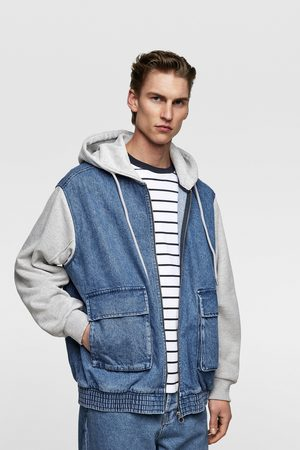 Zara Jacket with contrasting hood